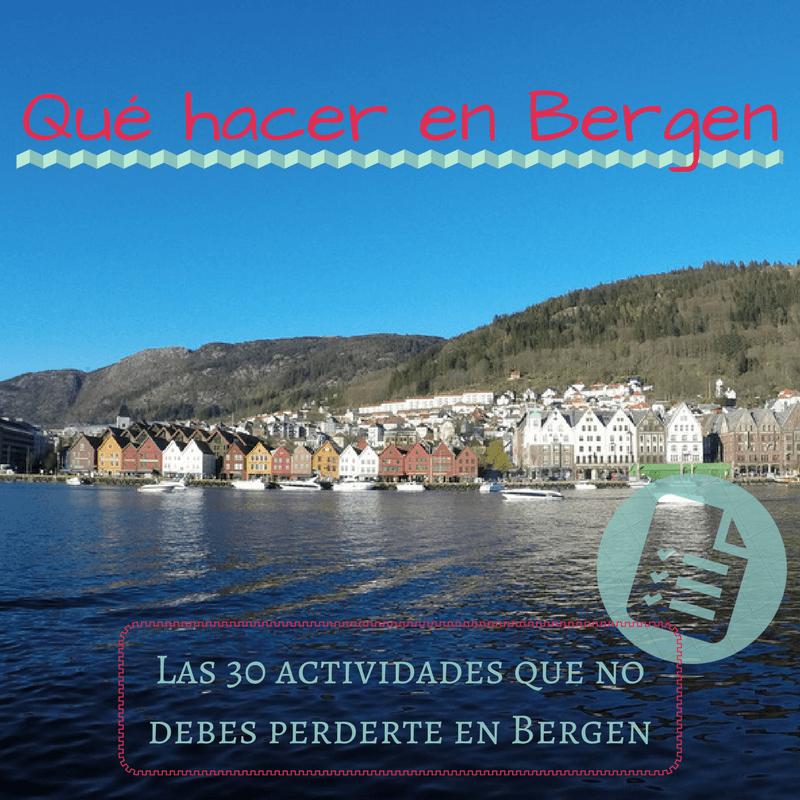 Qué hacer en Bergen