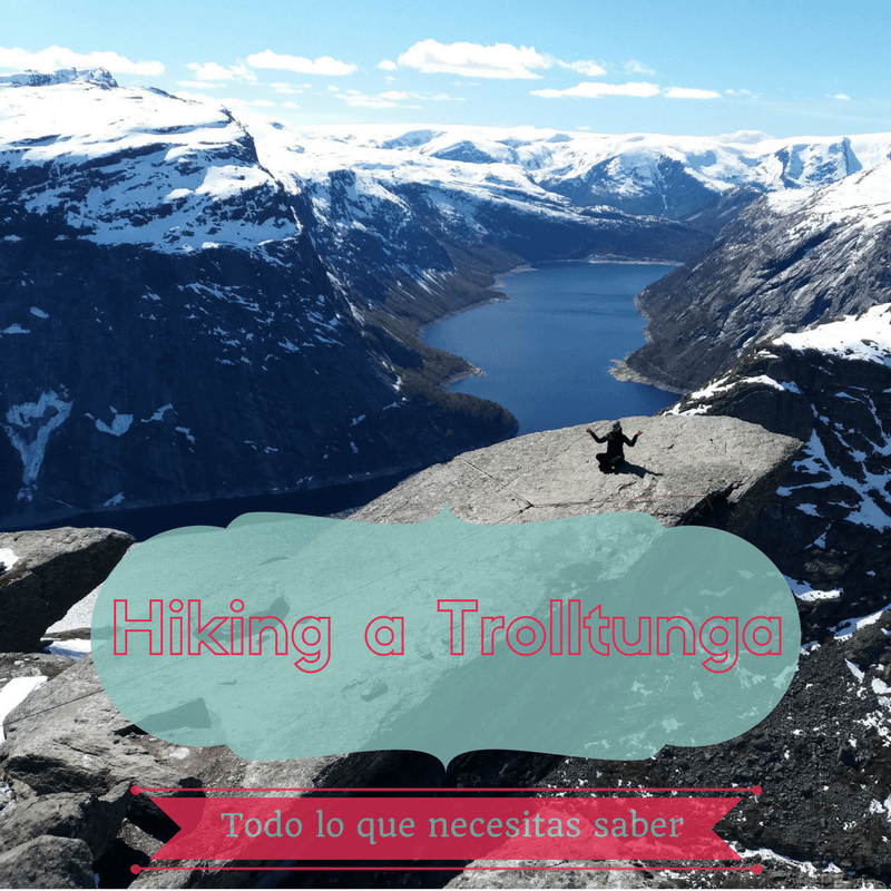 Hiking a Trolltunga
